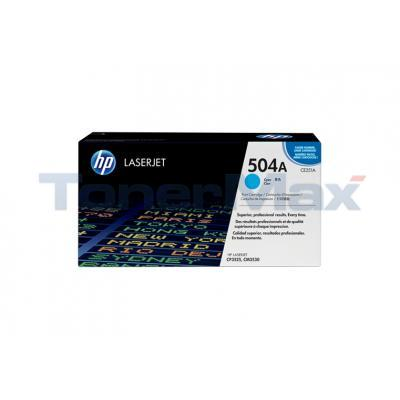 HP CLJ CM3530 CP3525N PRINT CTG CYAN